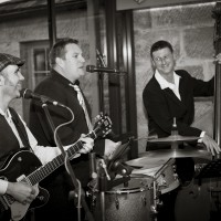 Sydney Party band Sydney Funk Collective in coctail function mode playing jazz and pop for a wedding